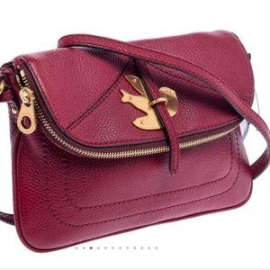 MBMJ -Leather petal to the metal Natasha purse